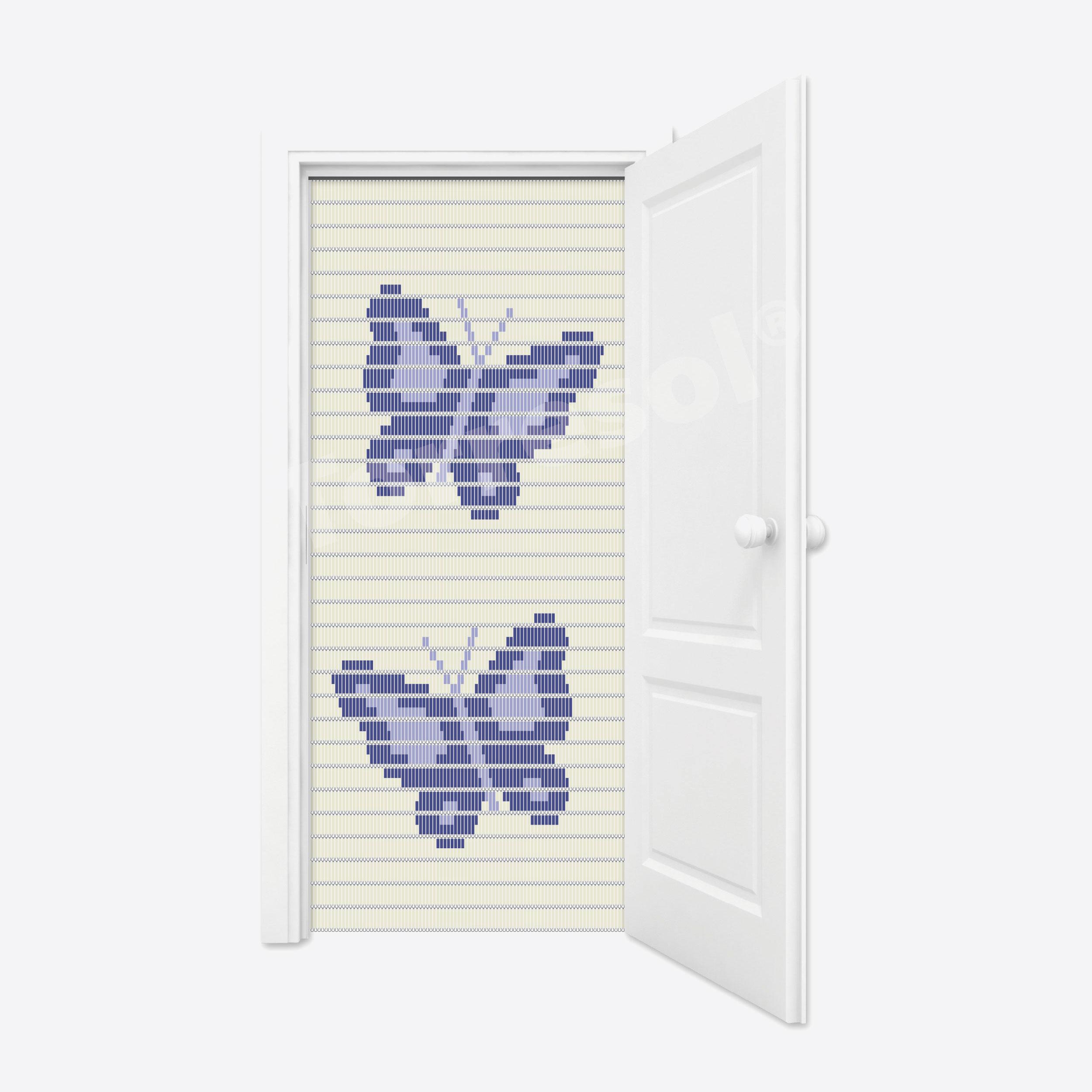 3B. Vliegengordijn Vlinders