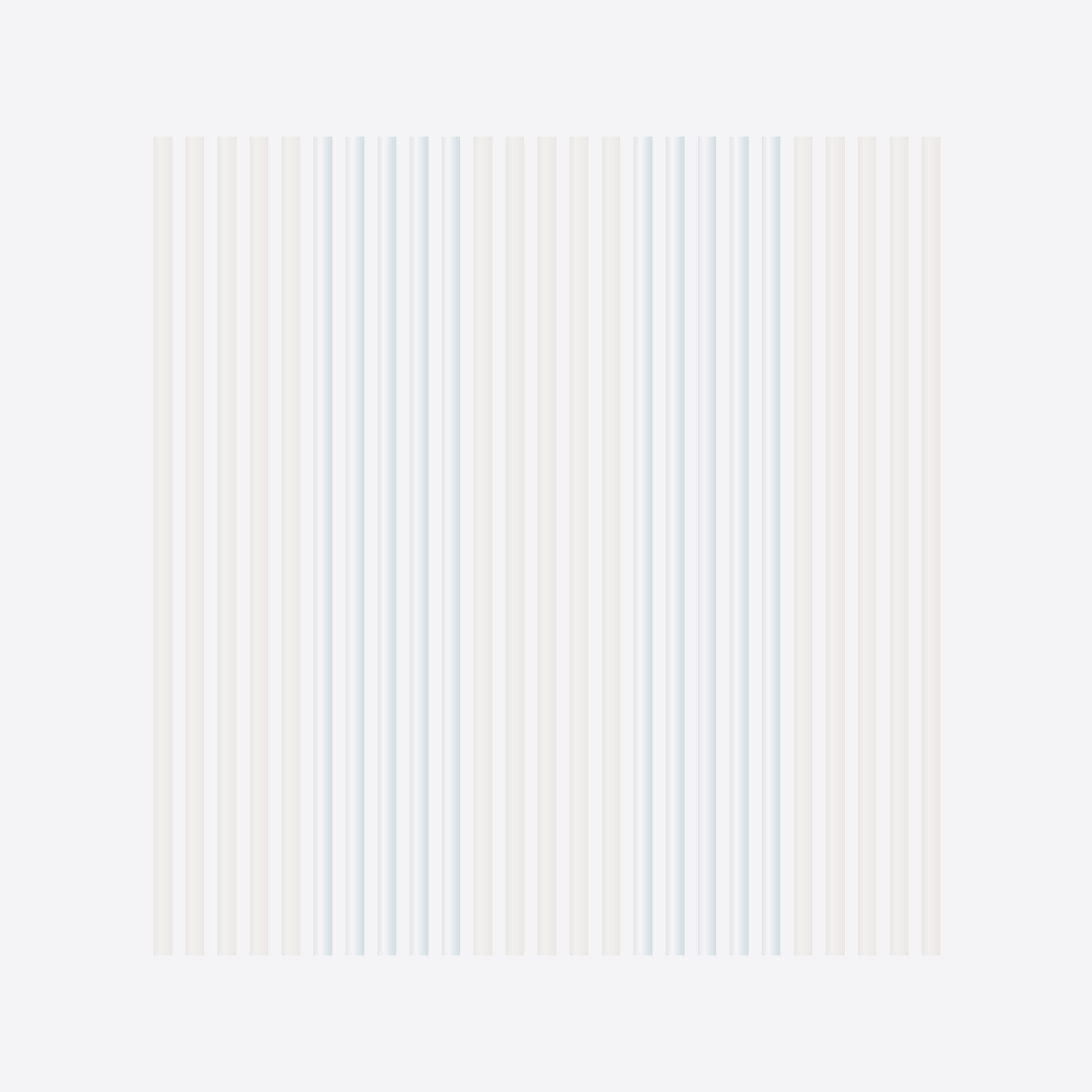 Kunststof draadgordijn Hilo transparant, wit