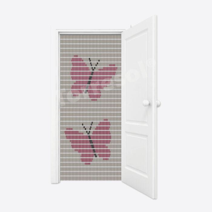3C. Vliegengordijn Vlinders