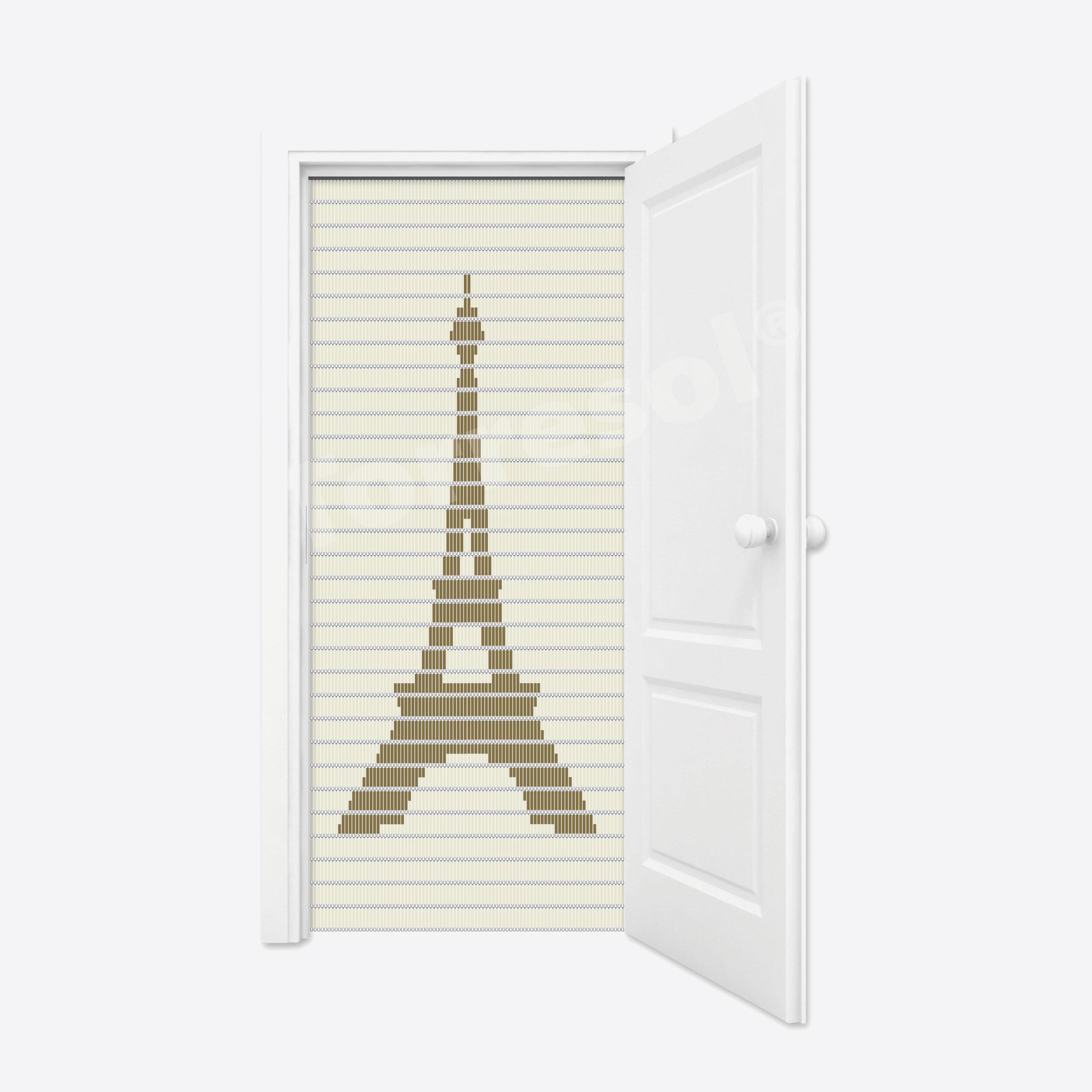 88. Vliegengordijn Eiffeltoren