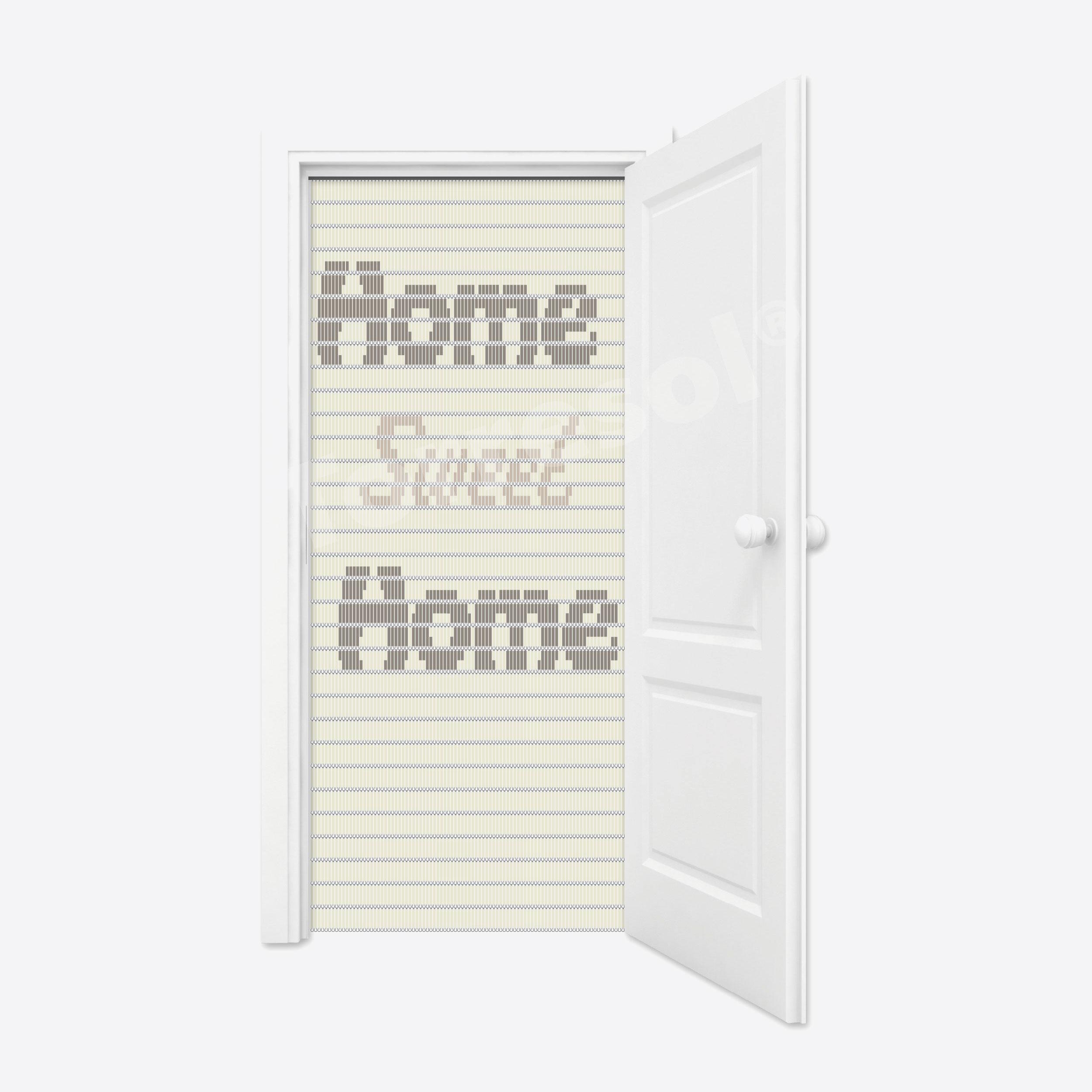 91. Vliegengordijn Home Sweet Home