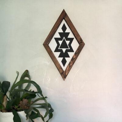 Aztec C white 30x50