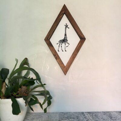 Girafe 30x50