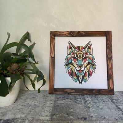 Wolf 39x39