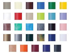 Kleuren-hulzen
