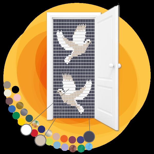 Vliegengordijn-duiven-maatwerk-achtergrond